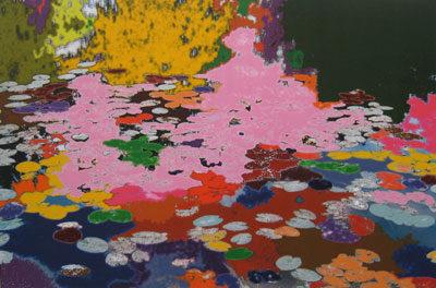 Jean Philippe Lémée- Peinture sur le motif-2001